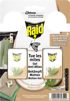 Raid Gel Anti-Mites Cèdre
